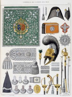 Gardes-Du-Corps De Roi, Insignia by Eugene Titeux
