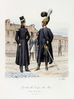 Gardes-Du-Corps De Roi, Tenue De Quartier, 1820-30 by Eugene Titeux