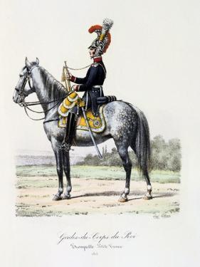 Gardes-Du-Corps De Roi, Trumpeter (Petite Tenu), 1815 by Eugene Titeux