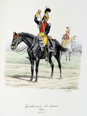 Gendarmerie Des Chasses, 1815-30 by Eugene Titeux