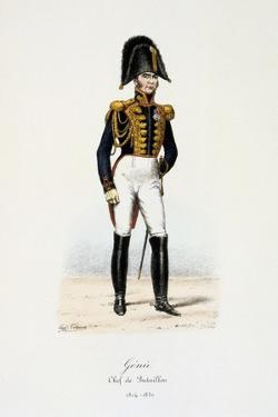 Génie, Chef De Bataillon, 1814-30 by Eugene Titeux