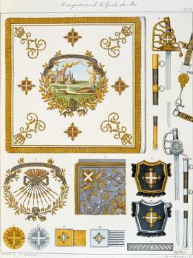 Mousquetaires De La Garde Du Roi, Insignia by Eugene Titeux