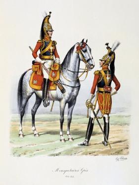 Mousquetaires Gris, 1814-15 by Eugene Titeux