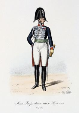 Sous-Inspecteur Aux Revues, 1814-17 by Eugene Titeux