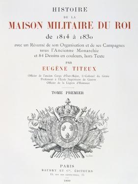 Title Page, 1814-1830 by Eugene Titeux