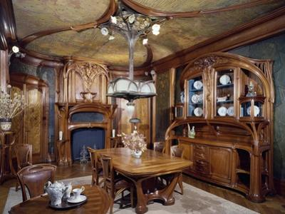 Art Nouveau Style Dining Room, 1903-1906