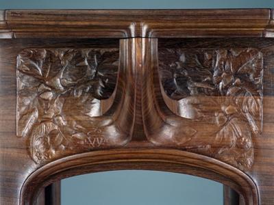 Art Nouveau Style Three-Tier Pedestal Table, Ca 1910