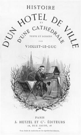 Histoire D'Un Hotel de Ville et D'Une Cathedrale