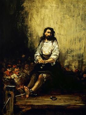 Sentenced to Death by Eugenio Lucas Velazquez