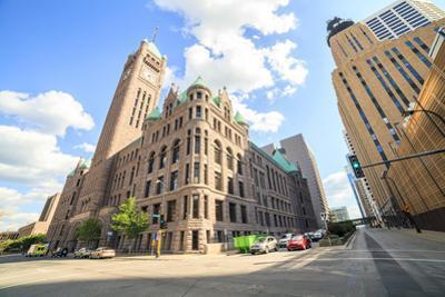 City Hall of Minneapolis, Minnesota. by Eunika
