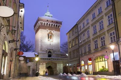 Main Street in Historic Krakow, Poland by Eunika