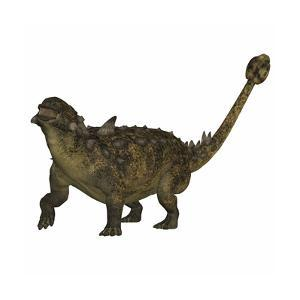 Euoplocephalus Armored Dinosaur from the Cretaceous Period