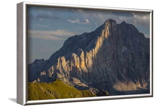 Europe, Italy, Alps, Dolomites, Mountains, Civetta, View from Rifugio Nuvolau-Mikolaj Gospodarek-Framed Photographic Print