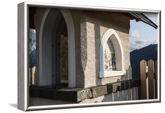 Europe, Italy, Alps, Dolomites, Veneto, Belluno, Colle Santa Lucia - Civetta, view from Belvedere-Mikolaj Gospodarek-Framed Photographic Print