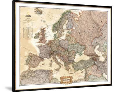Map Of Europe For Sale.Affordable Maps Of Europe Natl Geo Poster For Sale At Allposters Com