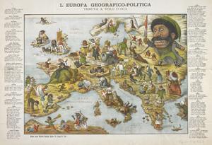 European Political Geography, Bolonga, ca. 1871