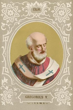 Gregorius V by European School