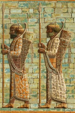 Royal Archers of Darius by European School