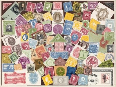 Stamps by European School