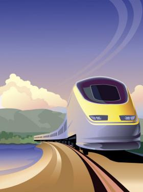 Eurostar High Speed Train