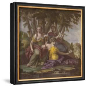 Muses V by Eustache Le Sueur