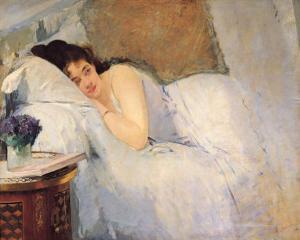 Morning Awakening by Eva Gonzales