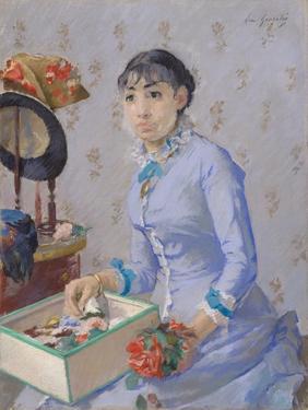 The Milliner, C.1877 by Eva Gonzales