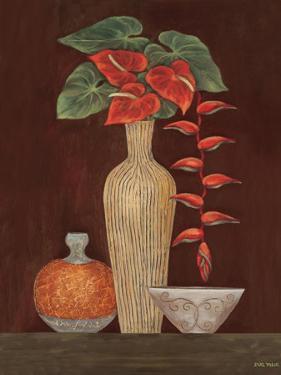 Red Anthuriums by Eva Misa
