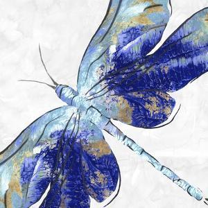Blue Dragonfly by Eva Watts