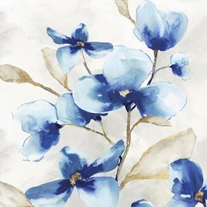 Blue Jardin I by Eva Watts