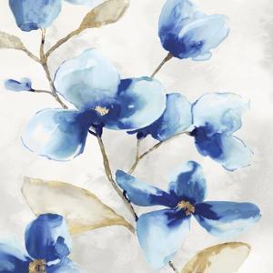Blue Jardin II by Eva Watts