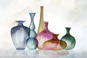 Fall Colour Bottles by Eva Watts
