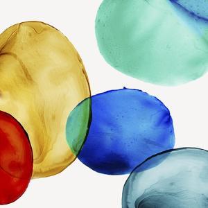 Glass Blobs I by Eva Watts