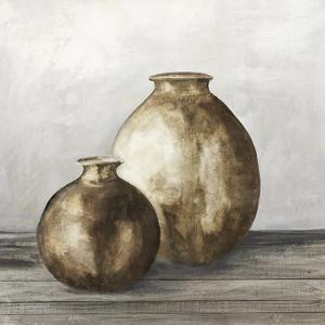 Golden Urnes I by Eva Watts