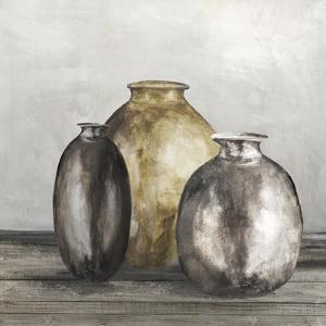 Golden Urnes II by Eva Watts
