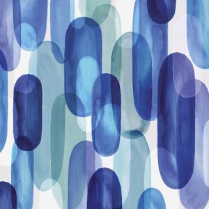 Groovy Blue II by Eva Watts