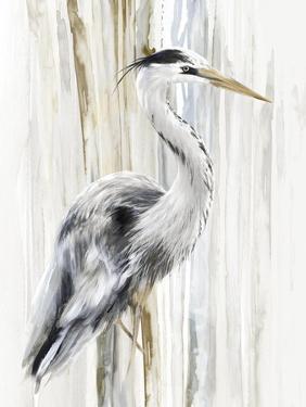River Heron I by Eva Watts