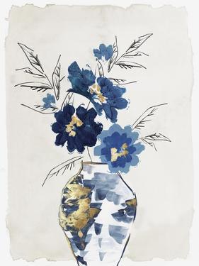 Sapphire Vase by Eva Watts
