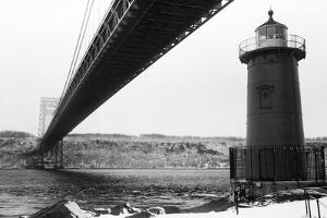 Bridge and Lighthouse by Evan Morris Cohen