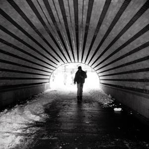 Central Park Tunnel by Evan Morris Cohen