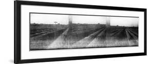 Train Yard Triptych by Evan Morris Cohen