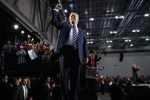 Election 2016 Trump by Evan Vucci
