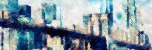 City Blue Impression by Evangeline Taylor