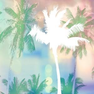 Dreamy Palm Trees by Evangeline Taylor