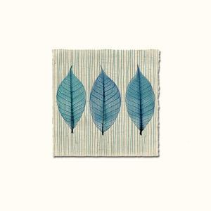 Handmade Paper and Leaves by Evangeline Taylor