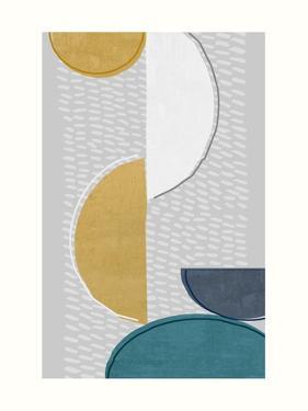 Modern Ellipse 1 by Evangeline Taylor