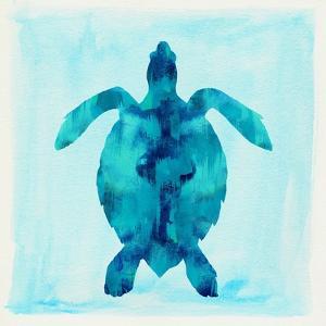 Tropical Sea Turtle by Evangeline Taylor