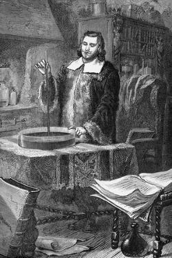 Evangelista Torricelli Invents Barometer