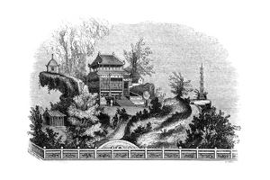 Chinese Summer Villa, 1847 by Evans