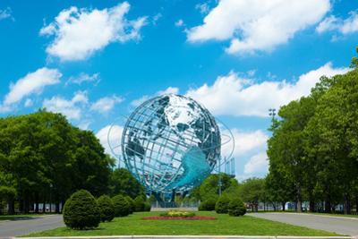 1964 New York World's Fair Unisphere in Flushing Meadows Park by EvanTravels